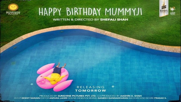 Shefali Shah Launches The Latest Poster Of Her Short Film, Happy Birthday Mummyji Ahead Of Its Release!