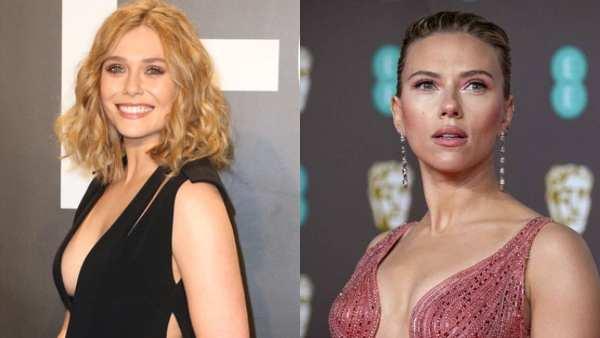 Jason Sudeikis & Elizabeth Olsen Support Scarlett Johansson Amid Legal Battle With Disney