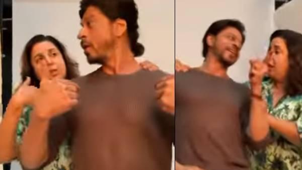 Shah Rukh Khan Recreates His Popular Main Hoon Na Title Track With Farah Khan, Fans Ask Them To Reunite