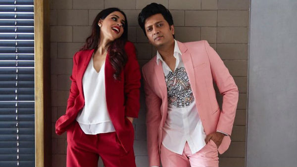 Genelia D'Souza & Riteish Deshmukh Make Sure Their Children Don't Feel Special When They Spot Paparazzi