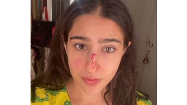 Sara Ali Khan Shares Her 'Knock Out' Pic With A Quirky Message For Her Parents Saif Ali Khan And Amrita Singh