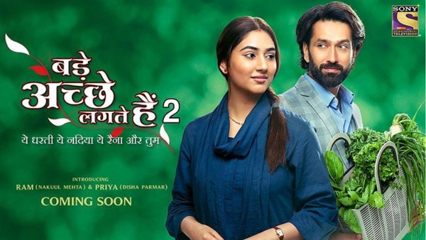 Bade Acche Lagte Hain 2's New Poster Unveiled By Nakuul Mehta & Disha Parmar On Indian Idol 12 Grand Finale