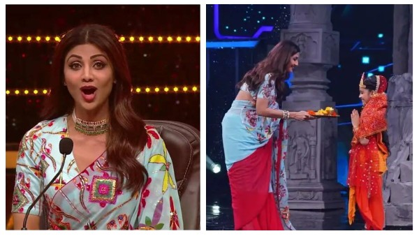 Super Dancer 4: Shilpa Shetty Performs Kanjak Pooja On Set, Says She Feels Cleansed After Watching Performance