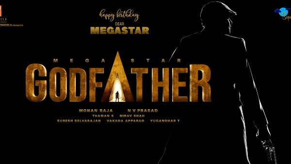 Megastar Chiranjeevi-Mohan Raja-Konidela Productions & Super Good Films - '#Chiru153' Titled Godfather