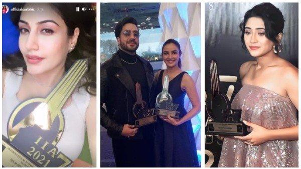 International Iconic Awards 2021 Winners List: Jasmin-Aly, Surbhi, Shivangi, Karanvir, RiAnsh & Others Win BIG