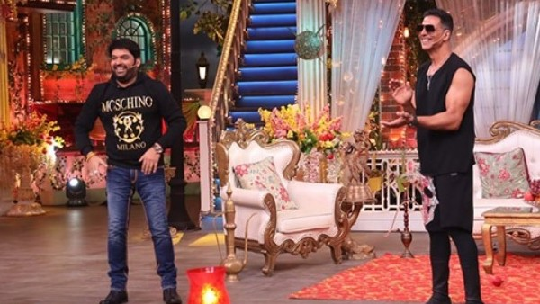 The Kapil Sharma Show: Akshay Teases Kapil For His Bell Bottom Tweet; Says 'Milkar Teri Khabar Leta Hoon'