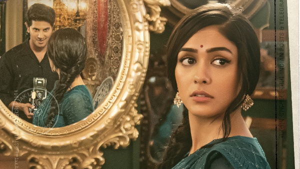Mrunal As Lieutenant RAM's Sita In Dulquer's Film