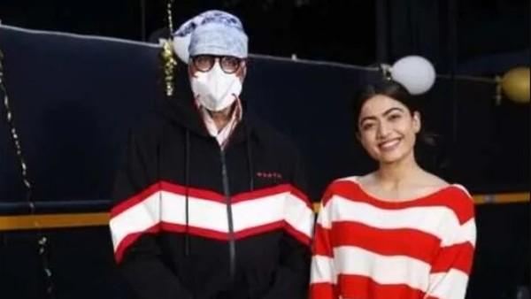Rashmika Mandanna On Working With Amitabh Bachchan In Goodbye: It Has Been Amazing Shooting With Him