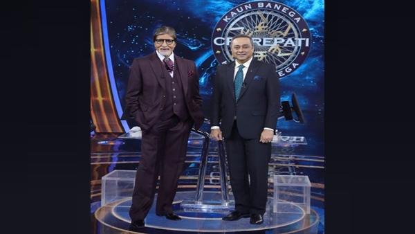 Kon Honaar Crorepati Host Sachin Khedekar Meets Kaun Banega Crorepati 13's Amitabh Bachchan; See Post
