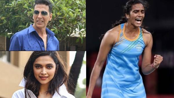 Akshay Kumar, Deepika Padukone & Other Celebs Hail PV Sindhu's Historic Bronze Win At Tokyo Olympics 2020