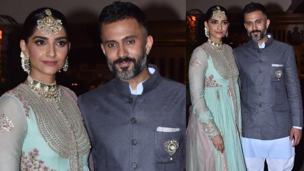 Rhea Kapoor-Karan Boolani Wedding: Sonam Kapoor & Anand Ahuja Arrive In Style!