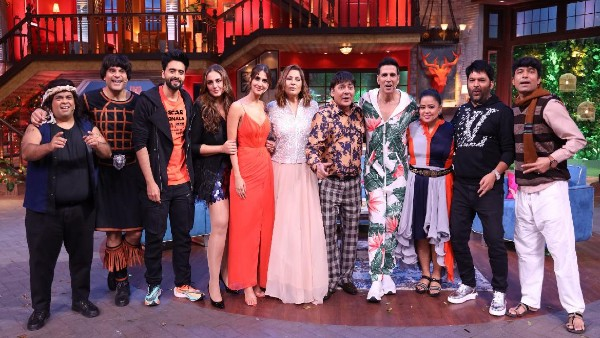 The Kapil Sharma Show To See The Cast Of Bhuj And Bell Bottom Grace The Stage In The Inaugural Episodes