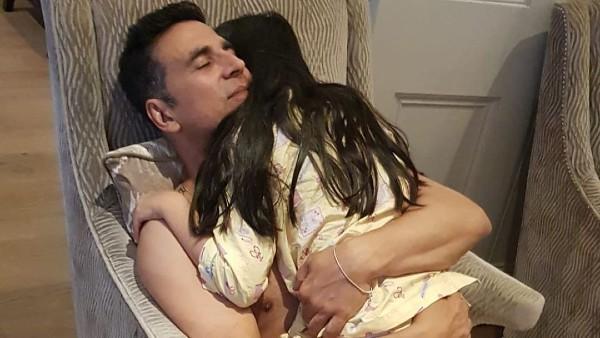 Akshay Shares Heart-Melting Pic With Nitara On Her Birthday