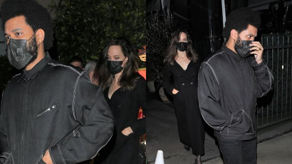 Angelina Jolie & The Weeknd Spotted On A Dinner Date, Pics Fuel Dating Rumours