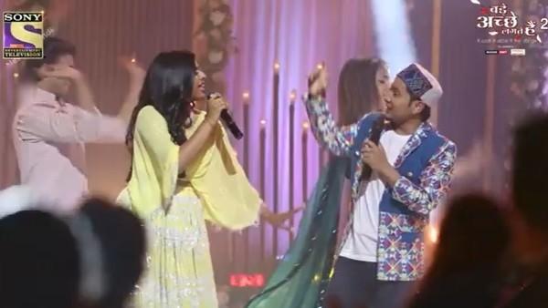 BALH 2: Pawandeep & Arunita On Shooting Spl Sequence
