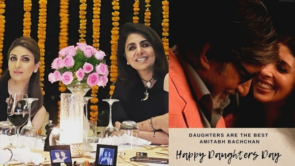 Daughters' Day 2021: Amitabh Bachchcan, Neetu Singh & Others Wish Their Little Angels!