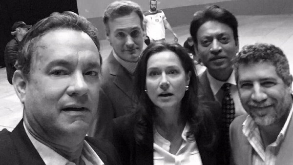 Babil Shares Irrfan Khan's Unseen Picture With Tom Hanks