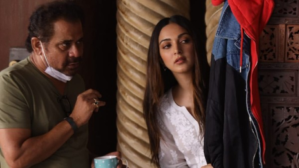Kiara's BTS Picture From The Sets Of Bhool Bhulaiyaa 2