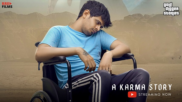 Actor Sachin Vashist Plays A Handicapped Husband In His Next Web Series, A Karma Story