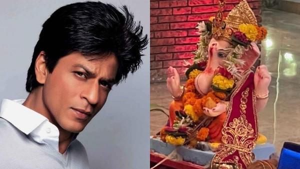 Shah Rukh Khan Bids Adieu To Ganpati Bappa; Says 'Until We See Him Again Next Year'