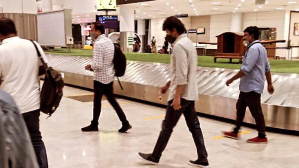 Thalapathy Vijay Wraps Up Beast Delhi Schedule; Airport Pictures Go Viral!