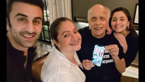 Alia Bhatt Celebrates Her Father Mahesh Bhatt's Birthday With Beau Ranbir Kapoor And Sister Pooja Bhatt