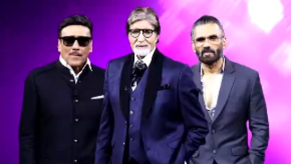 Kaun Banega Crorepati 13: Suniel Shetty And Jackie Shroff Share Fun Banter With Host Amitabh Bachchan
