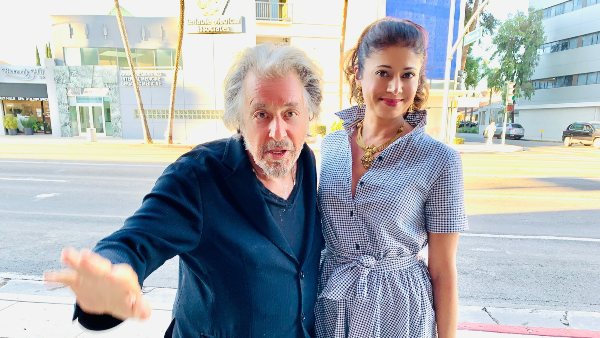 Pooja Batra Shares Pics With Al Pacino, Reveals Two Watched And Justice For All Together