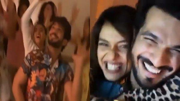 Arjun Bijlani, Divya Agarwal, Varun Sood & Others Party After Khatron Ke Khiladi 11 Finale Shoot (Videos)