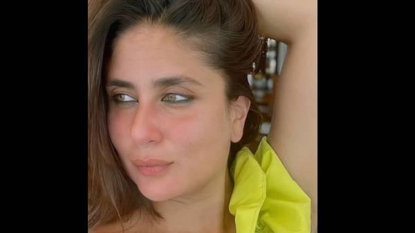 Kareena Kapoor Khan Stuns In A Black Bikini