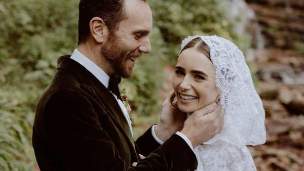 Lily Collins Shares Pictures Of Her Secret Wedding To Charlie McDowell; Says Never Been Happier