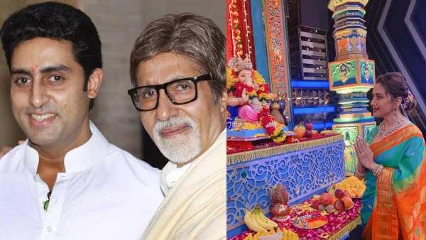 Happy Ganesh Chaturthi 2021: Amitabh Bachchan, Madhuri Dixit, Ajay Devgn & More Celebs Extend Warm Wishes