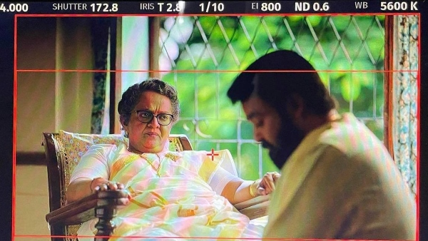 Prithviraj Shares A Shooting Still Of His Mom Mallika & Mohanlal From Bro Daddy Location; Wins The Internet