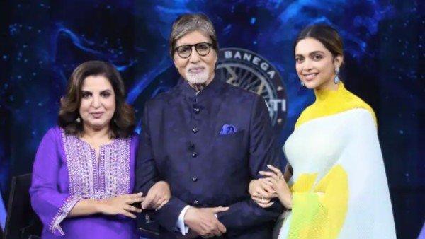 Kaun Banega Crorepati 13: Deepika Padukone And Farah Khan Grace The Hot Seat, Make Amitabh Bachchan Laugh