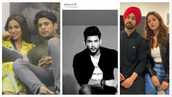 Hina Khan & Diljit Dosanjh Shocked With Sidharth Shukla's Demise; John Cena Pays Tribute To The Late Actor