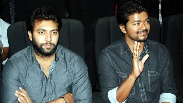 Vijay Meets Jayam Ravi At A Wedding Reception, Video Takes The Internet By Storm