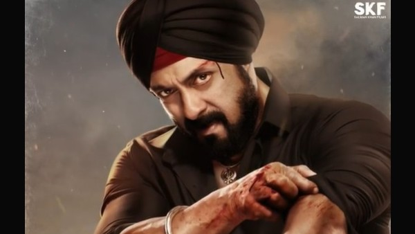 Antim New Poster: Salman Khan As Sikh Cop Rajveer Singh Gears Up For A Deadly Combat With Aayush Sharma
