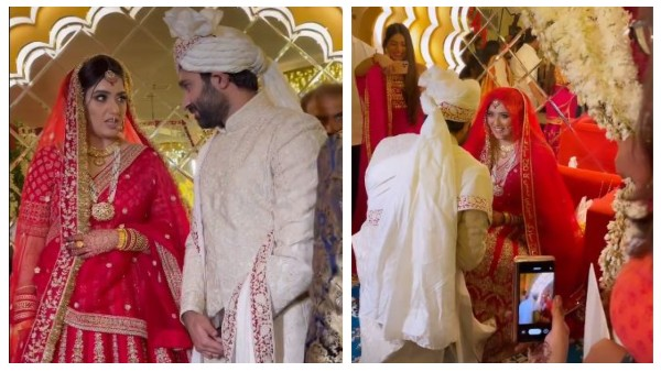 Yeh Hai Mohabbatein's Shireen Mirza Ties The Knot In Jaipur; Divyanka Tripathi, Aly Goni Attend The Wedding