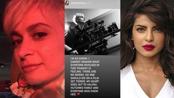 Priyanka Chopra Jonas Mourns Halyna Hutchins' Death, Says No One Should Die On A Film Set