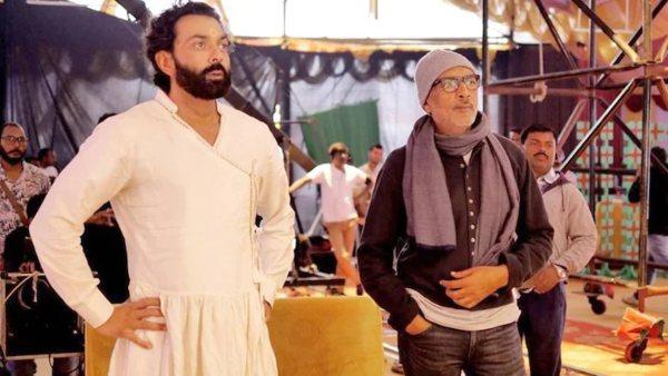 Aashram 3 Set Vansalised By Bajrang Dal Activists