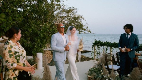 Vin Diesel Walks Paul Walker's Daughter Down The Aisle, Meadow Tied The Knot With Louis Thornton-Allan