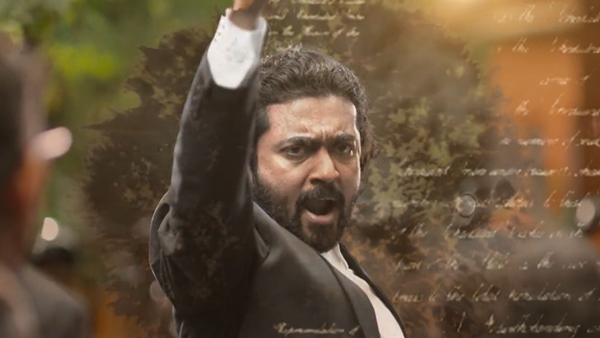 Suriya Unveils His Upcoming Film Jai Bhim's Intriguing Motion Poster
