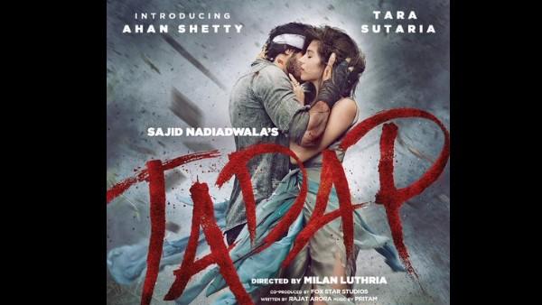 Tadap Trailer Is Equal Doses Of Heat And Smoke With Ahan Shetty And Tara Sutaria