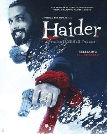 Haider (2014) Hindi 720p 950MB DVDRip 5.1 ESubs MP4
