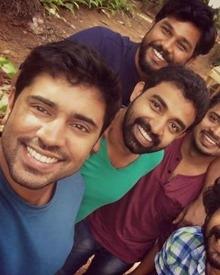 Selfie Time On The Sets Of Njandukalude Naattil Oridavela