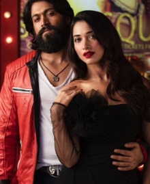 Yash, Tamanna's Latest Pics From KGF