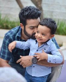 Abhay Ram On The Sets Of Janatha Garage