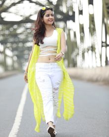 Ashika Ranganath's Latest Stills From Raambo 2