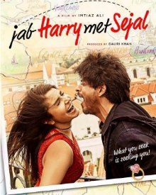 Brand New Poster Of SRK - Anushka Starrer Jab Harry Met Sejal