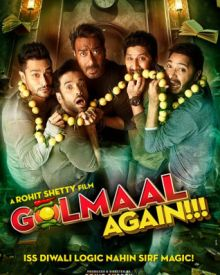 First Look Poster Of 'Golmaal Again'